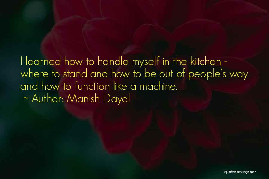 Manish Dayal Quotes 201483