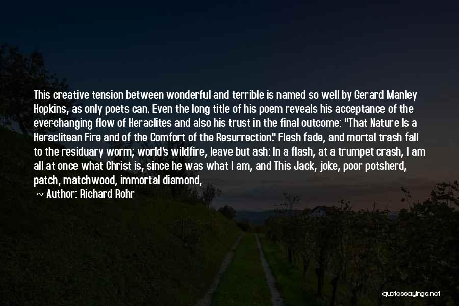 Manley Hopkins Quotes By Richard Rohr