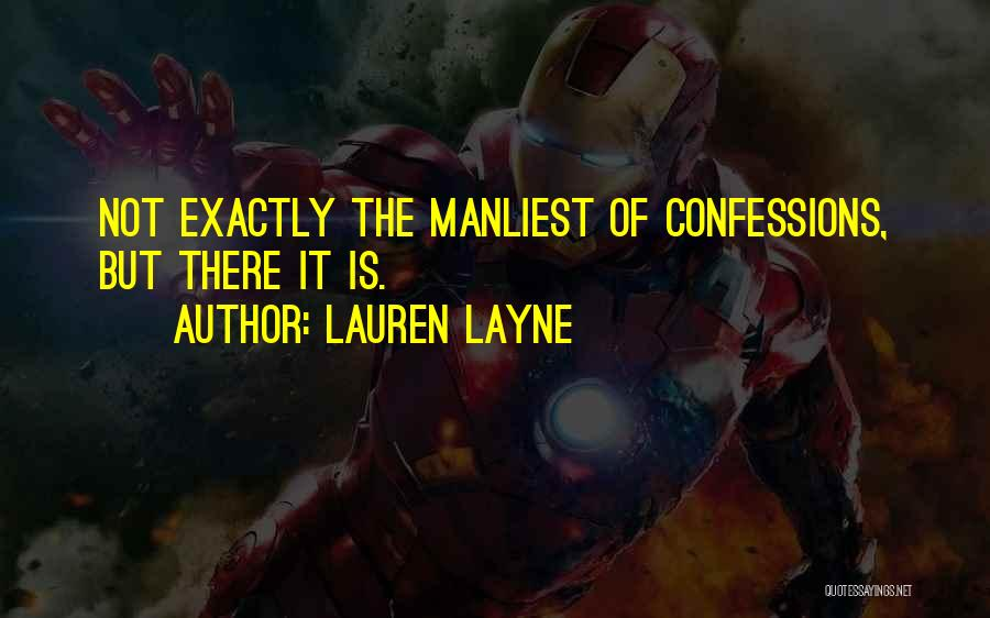 Manliest Quotes By Lauren Layne