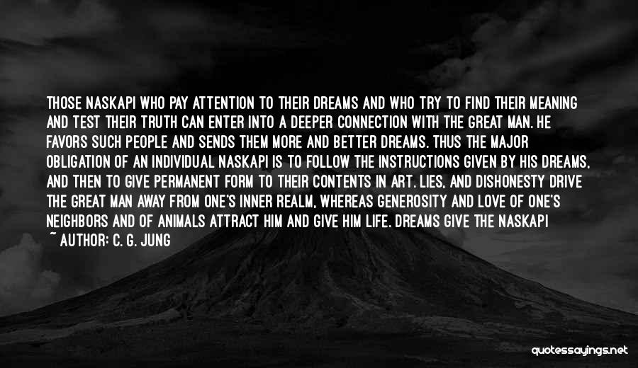 Man's Connection To Nature Quotes By C. G. Jung