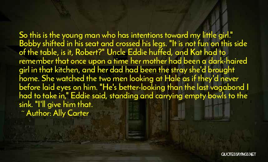 Man's Dark Side Quotes By Ally Carter
