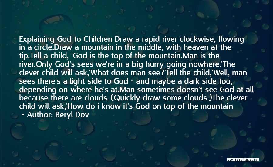 Man's Dark Side Quotes By Beryl Dov