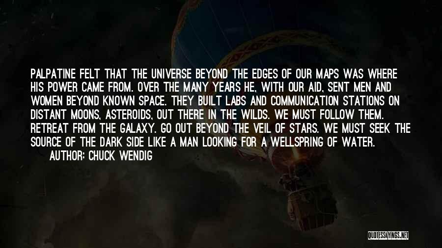Man's Dark Side Quotes By Chuck Wendig