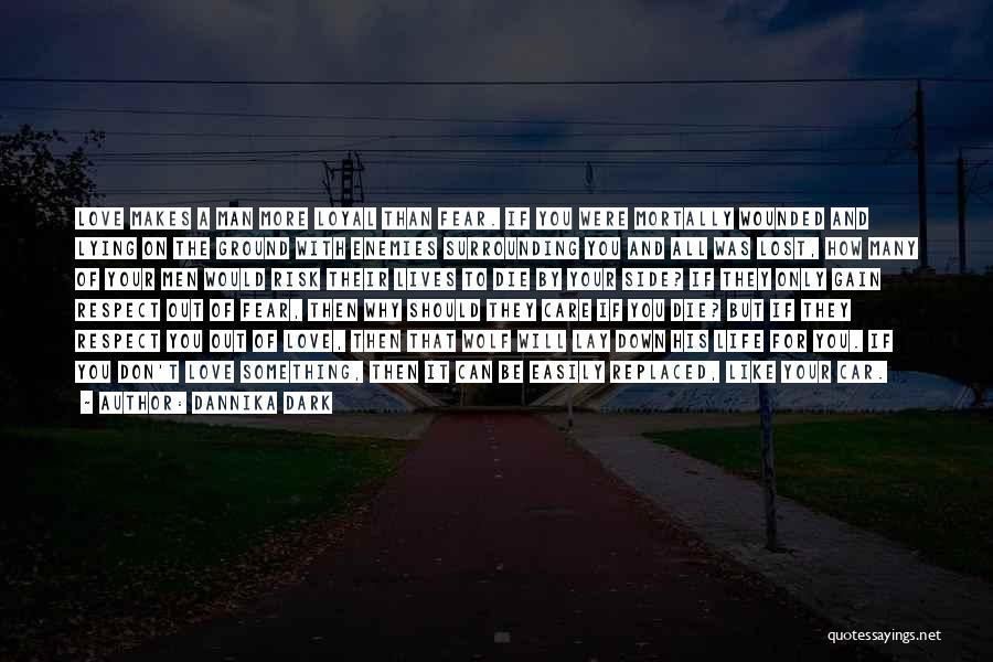 Man's Dark Side Quotes By Dannika Dark
