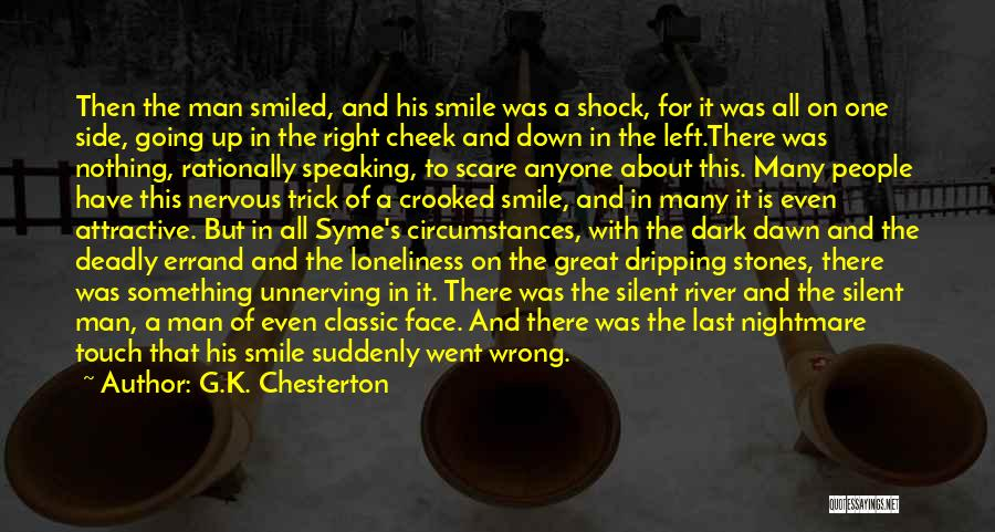 Man's Dark Side Quotes By G.K. Chesterton