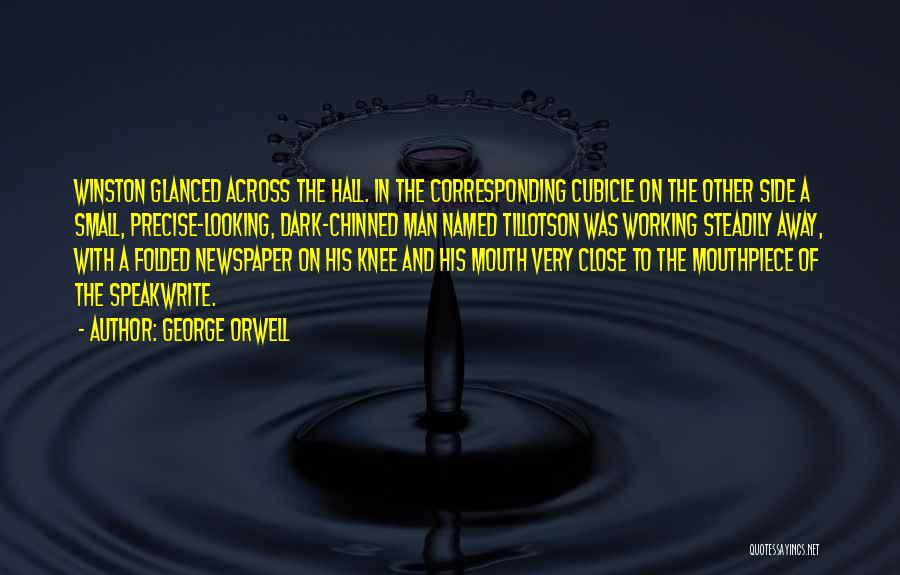 Man's Dark Side Quotes By George Orwell