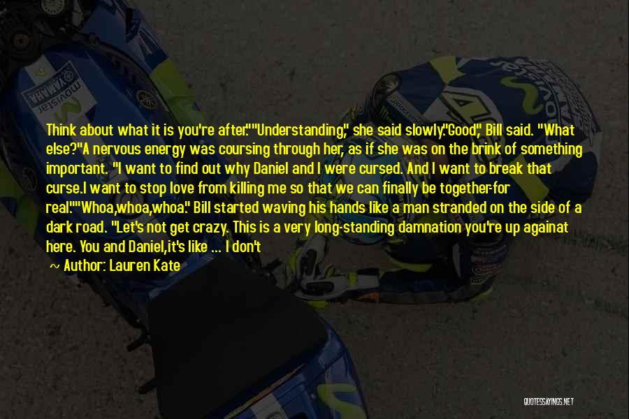Man's Dark Side Quotes By Lauren Kate