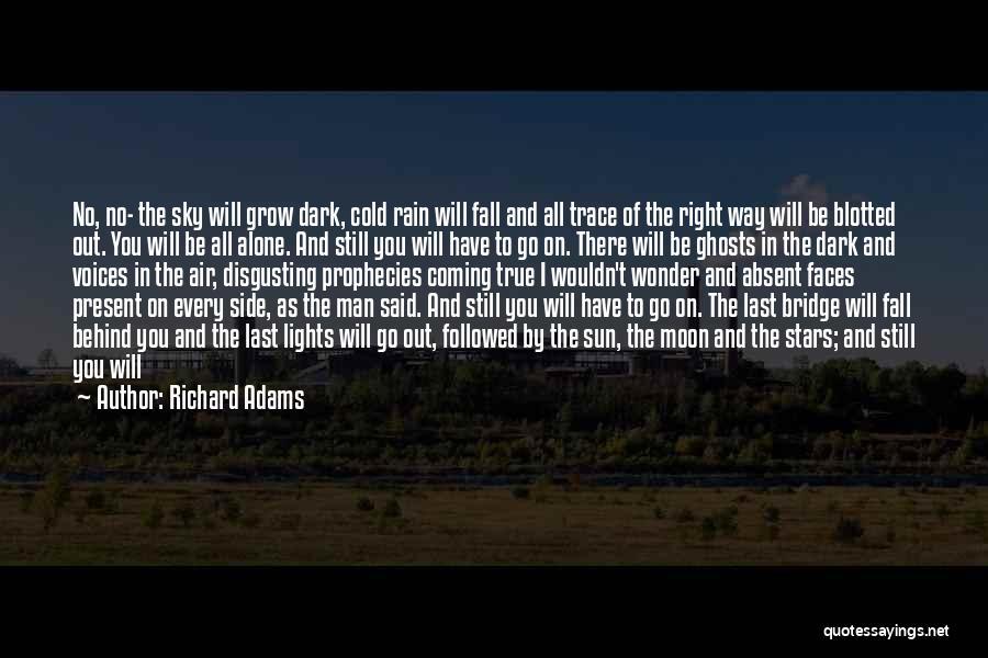 Man's Dark Side Quotes By Richard Adams