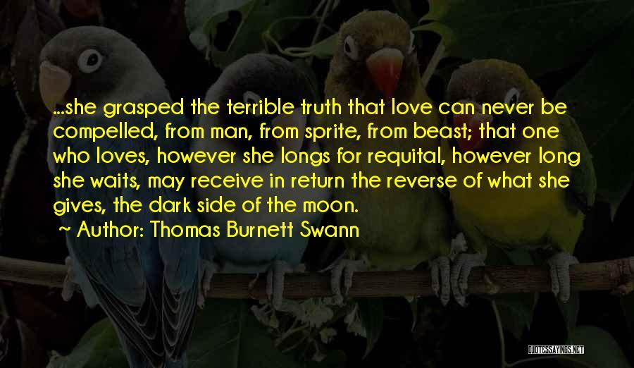 Man's Dark Side Quotes By Thomas Burnett Swann
