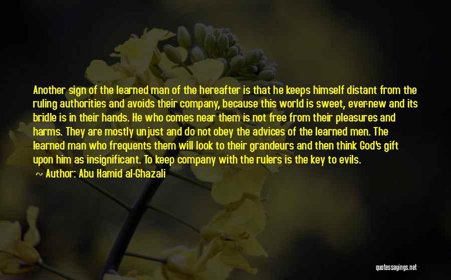 Man's Free Will Quotes By Abu Hamid Al-Ghazali