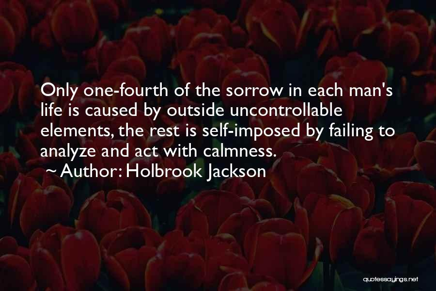 Man's Man Quotes By Holbrook Jackson
