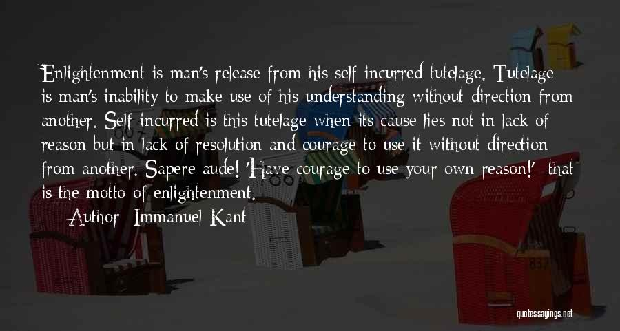 Man's Man Quotes By Immanuel Kant