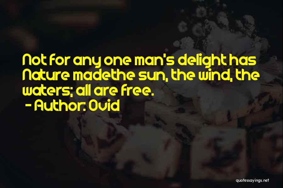 Man's Man Quotes By Ovid