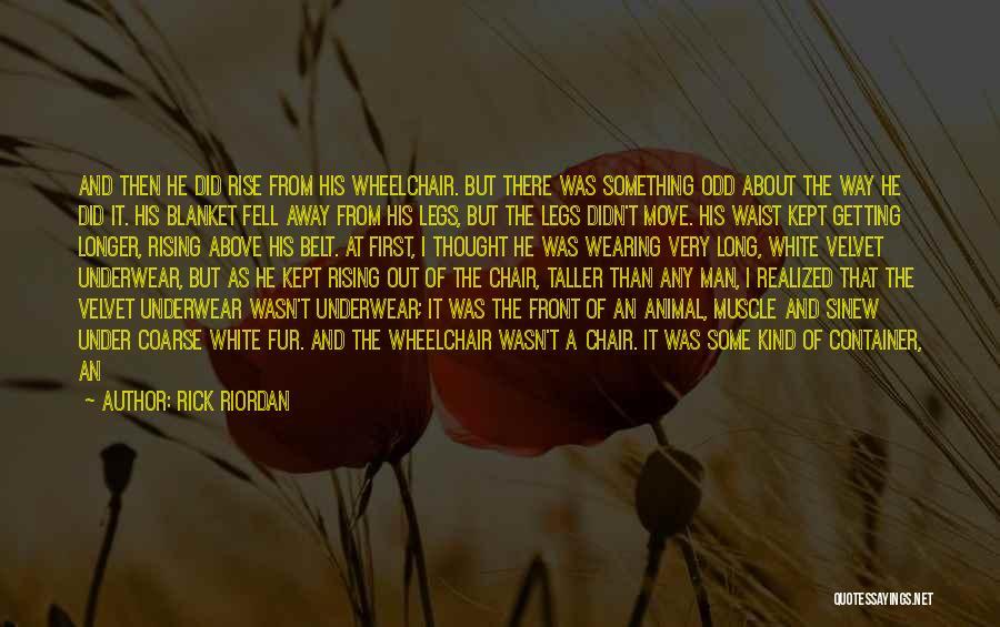 Man's Man Quotes By Rick Riordan