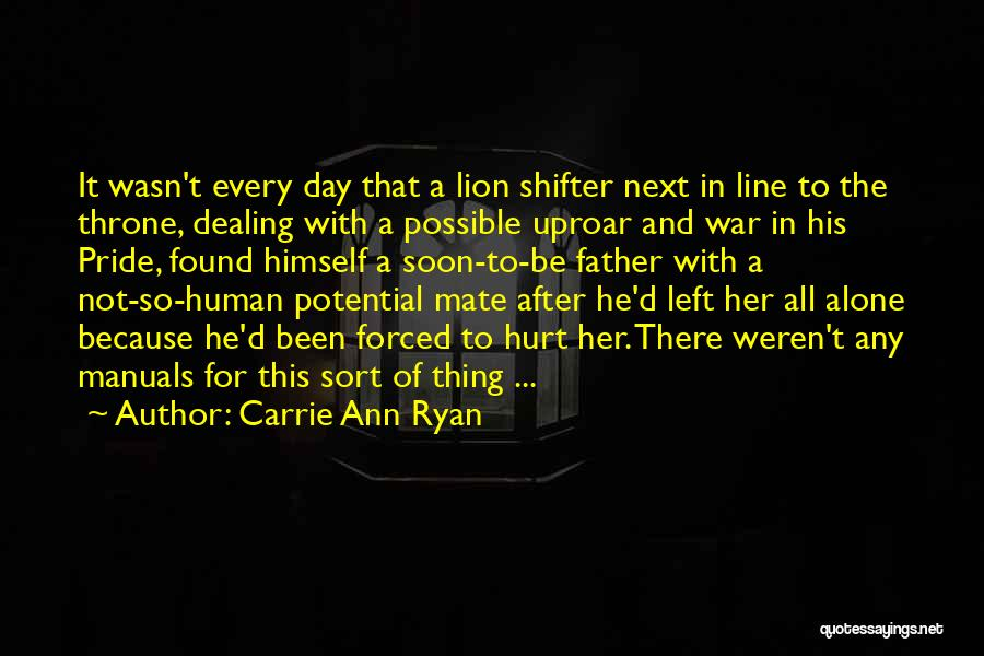 Manuals Quotes By Carrie Ann Ryan