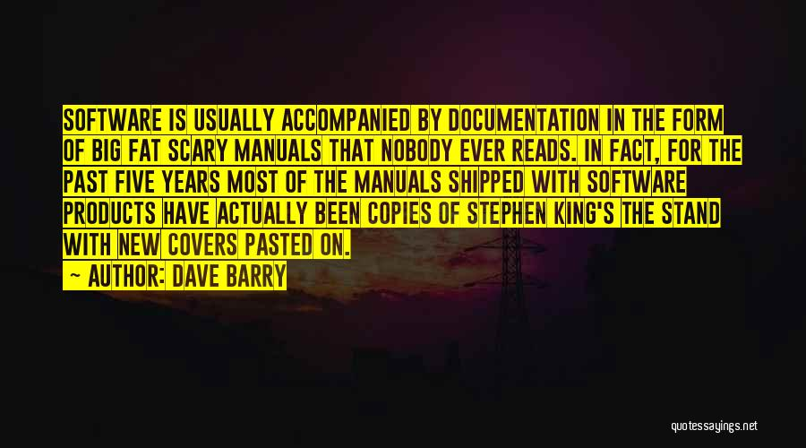 Manuals Quotes By Dave Barry