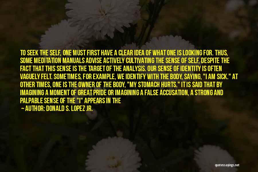 Manuals Quotes By Donald S. Lopez Jr.