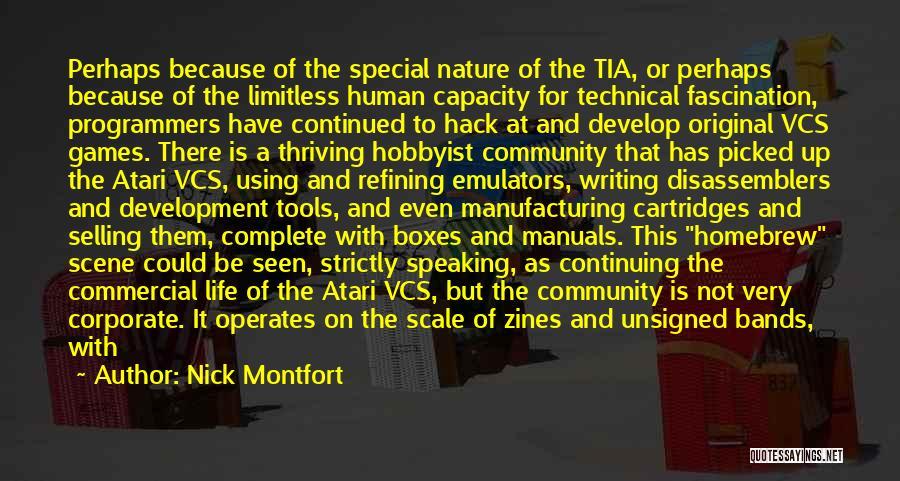 Manuals Quotes By Nick Montfort