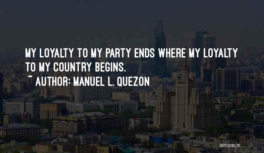 Manuel L. Quezon Quotes 1147041