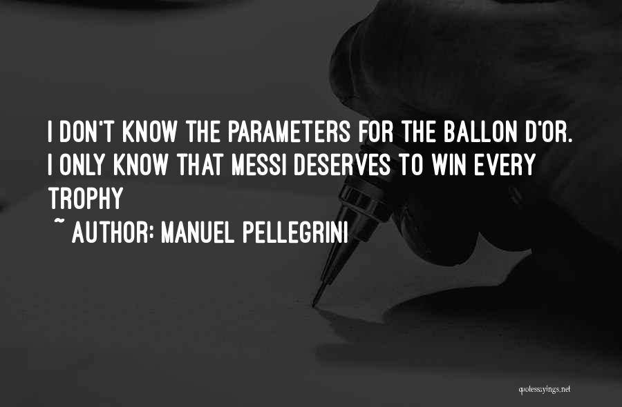 Manuel Pellegrini Quotes 151215