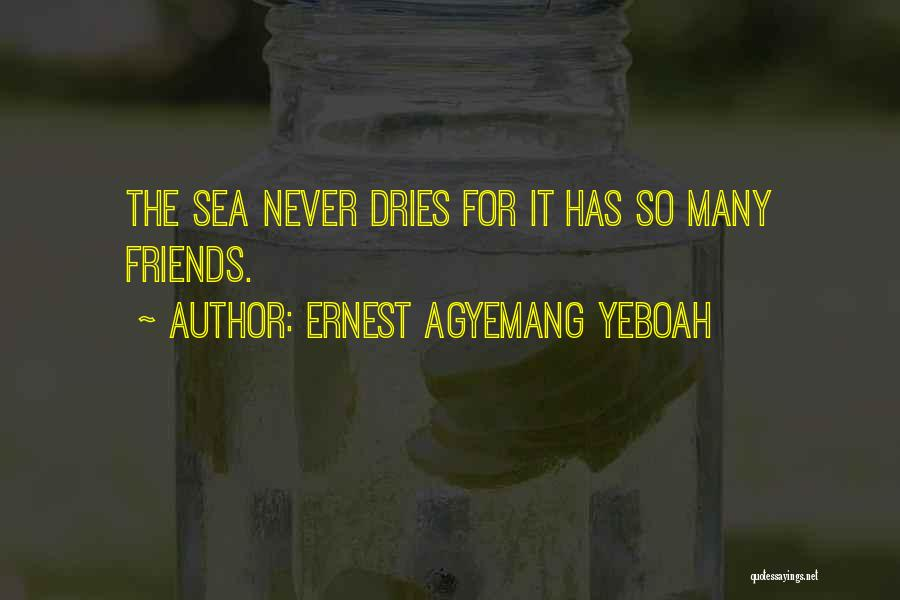 Many Friendship Quotes By Ernest Agyemang Yeboah