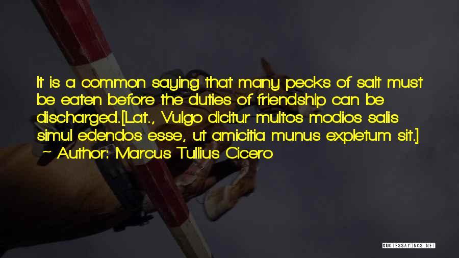 Many Friendship Quotes By Marcus Tullius Cicero