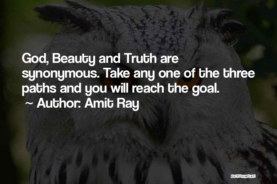 Many Paths To God Quotes By Amit Ray