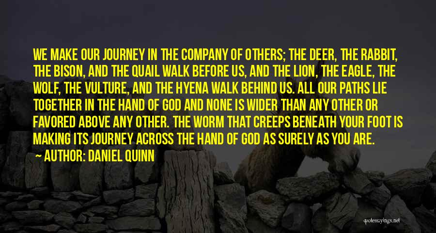 Many Paths To God Quotes By Daniel Quinn