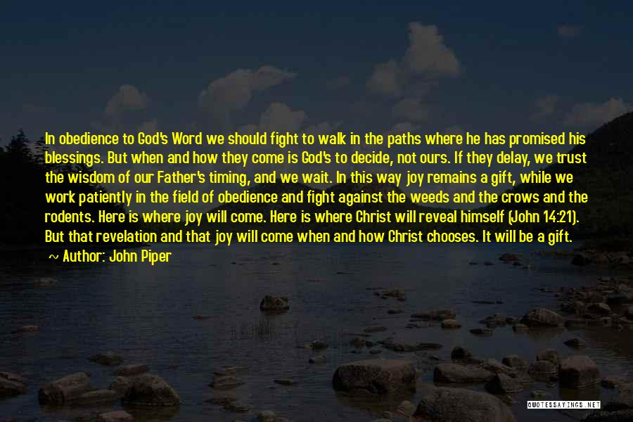 Many Paths To God Quotes By John Piper
