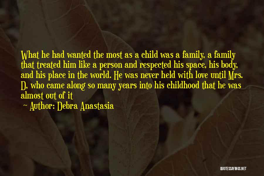 Many Years Of Love Quotes By Debra Anastasia