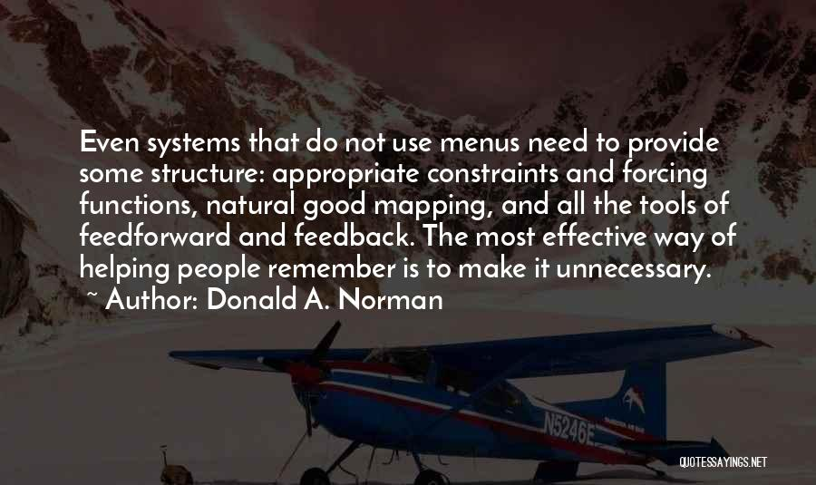 Mapping Quotes By Donald A. Norman