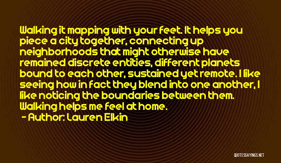 Mapping Quotes By Lauren Elkin