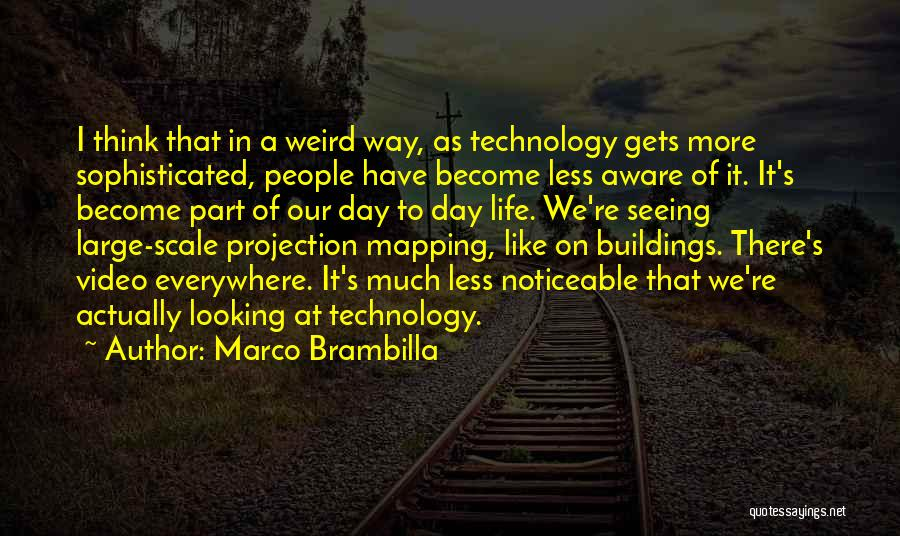 Mapping Quotes By Marco Brambilla