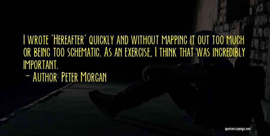 Mapping Quotes By Peter Morgan