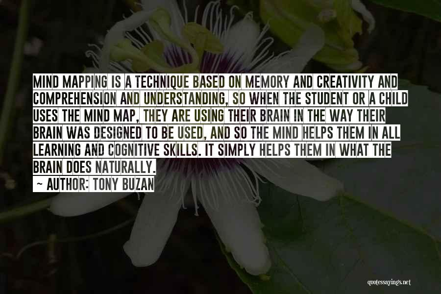 Mapping Quotes By Tony Buzan