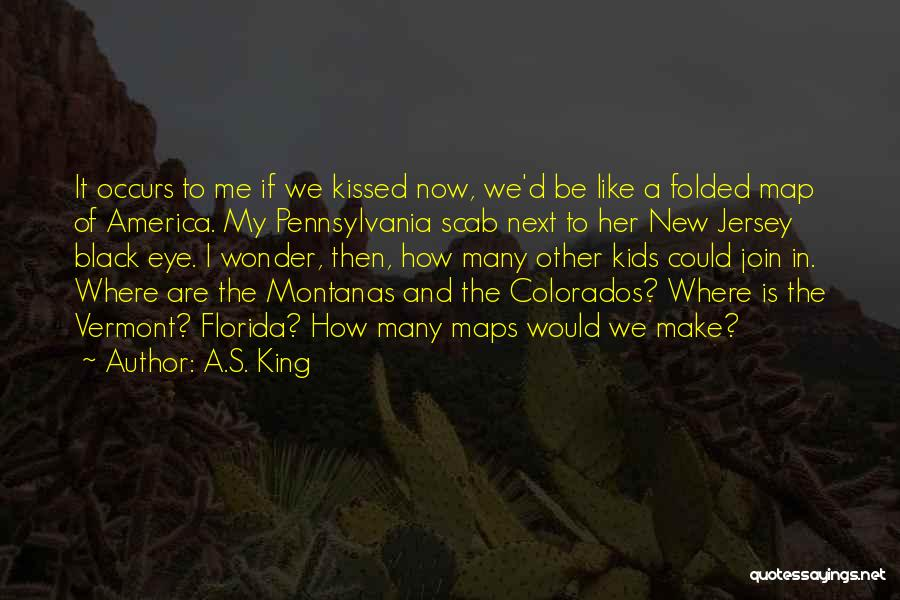 Maps And Quotes By A.S. King