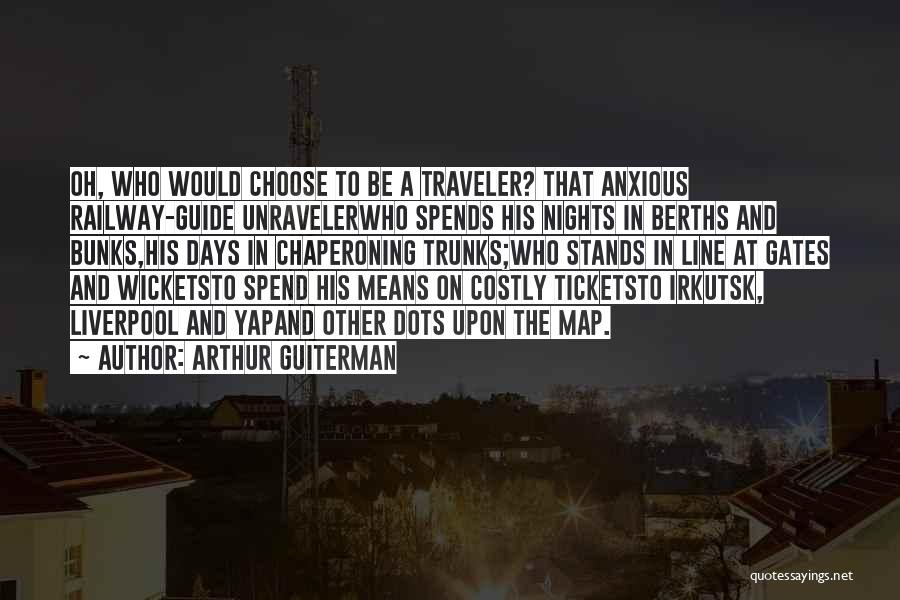 Maps And Quotes By Arthur Guiterman