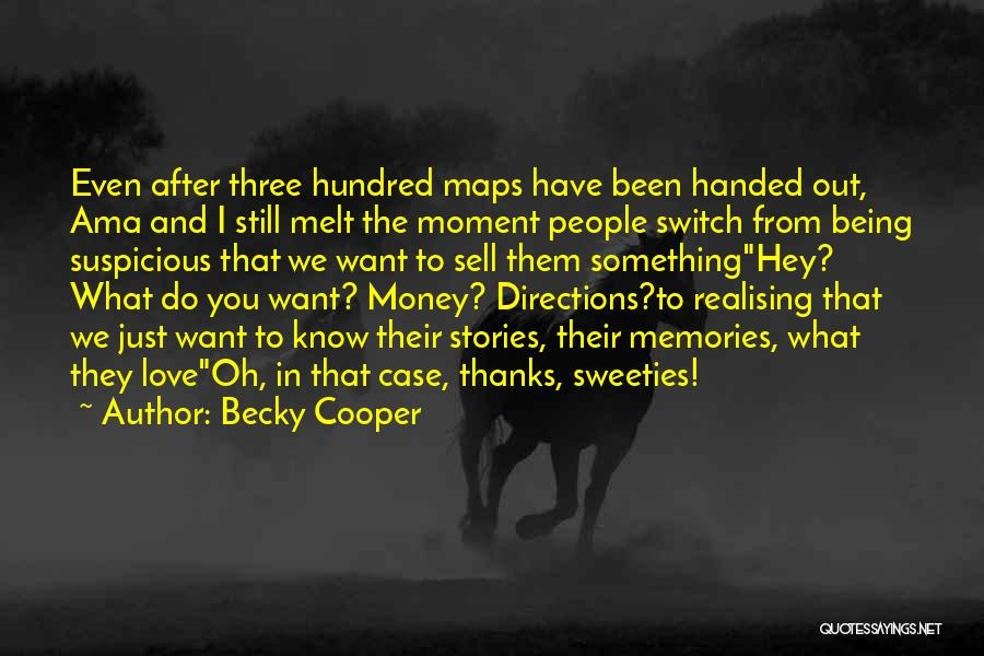 Maps And Quotes By Becky Cooper