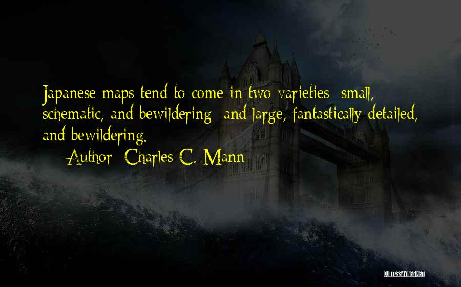 Maps And Quotes By Charles C. Mann