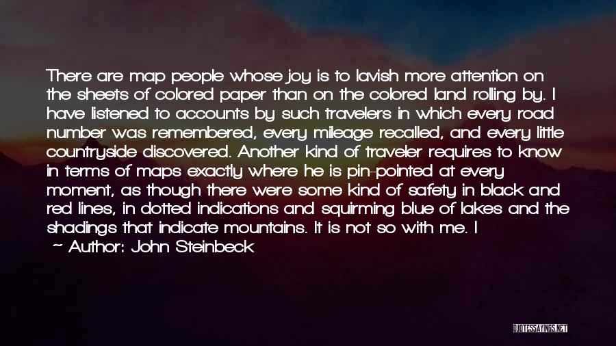 Maps And Quotes By John Steinbeck