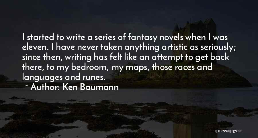 Maps And Quotes By Ken Baumann