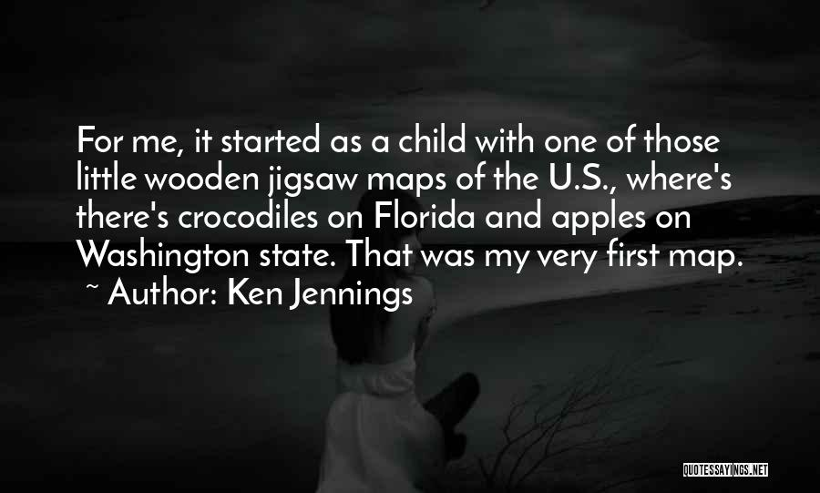 Maps And Quotes By Ken Jennings