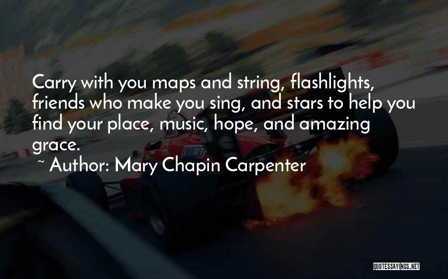 Maps And Quotes By Mary Chapin Carpenter
