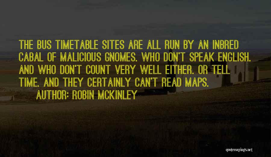 Maps And Quotes By Robin McKinley