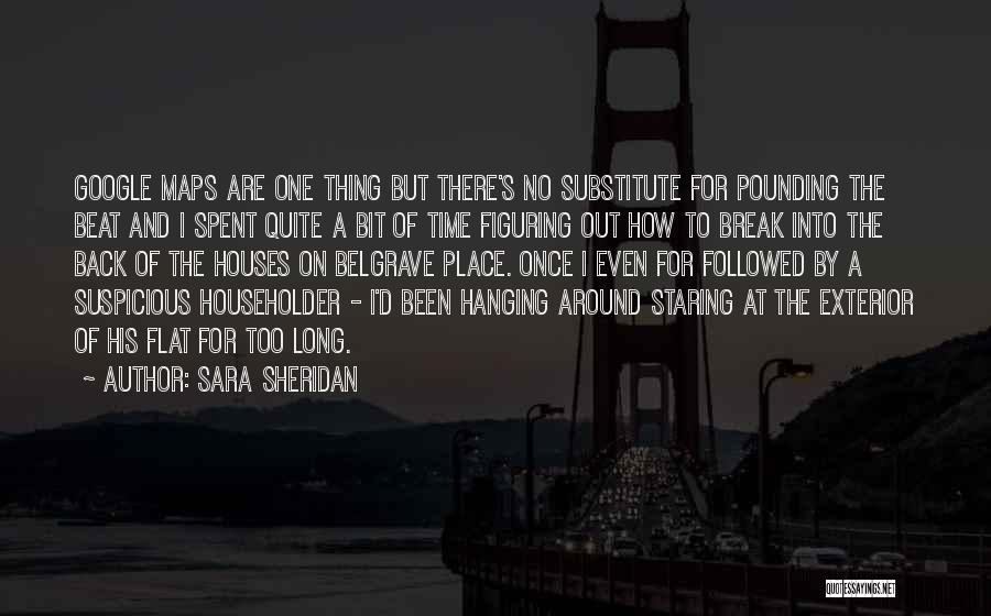 Maps And Quotes By Sara Sheridan