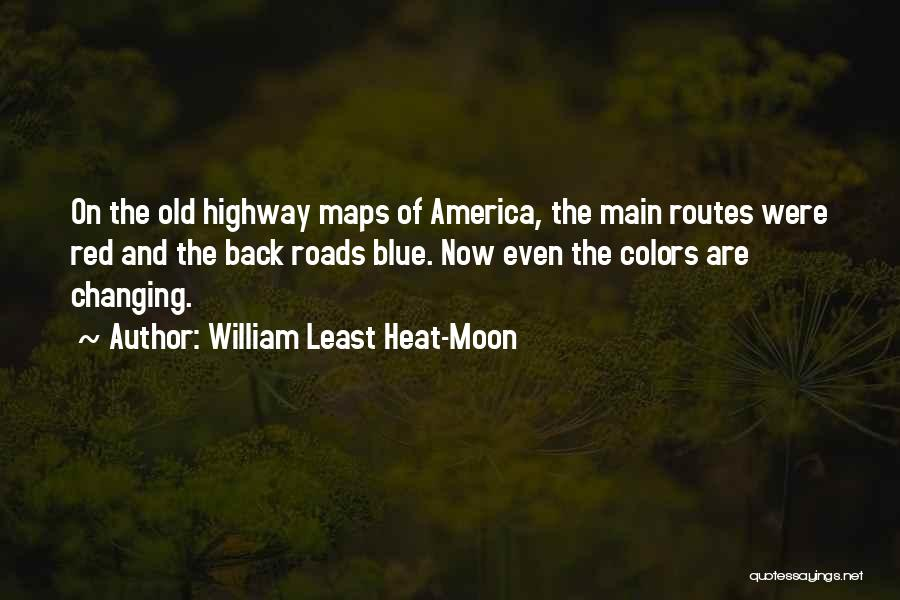 Maps And Quotes By William Least Heat-Moon