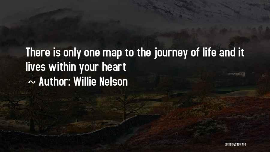 Maps And Quotes By Willie Nelson