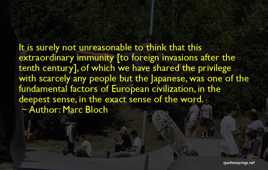 Marc Bloch Quotes 135216