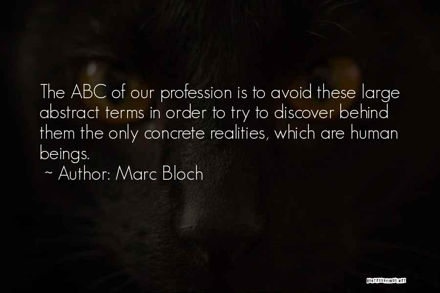 Marc Bloch Quotes 1851645
