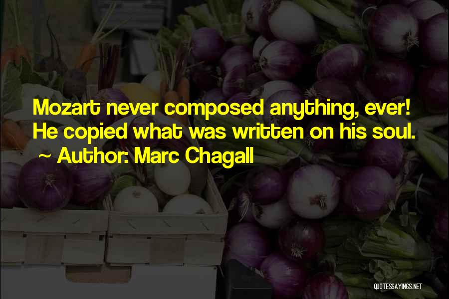 Marc Chagall Quotes 1324249